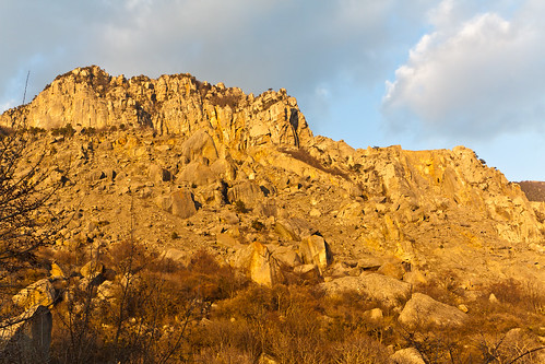 Crimean Mountains @ Dusk