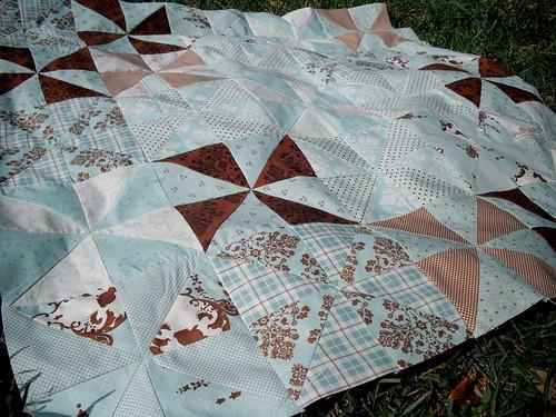 Pinwheel Quilt Top