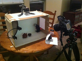 Teapot and Cup Lighting Setup