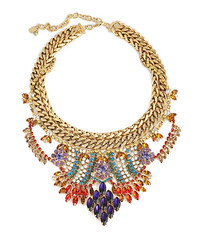 Dannijo New York (Burrs & Berries) Tags: newyork fashion chains jewelry accessories goldplated necklaces lookbook swarovskicrystals springsummercollection statementnecklace dannijo duenasnecklace