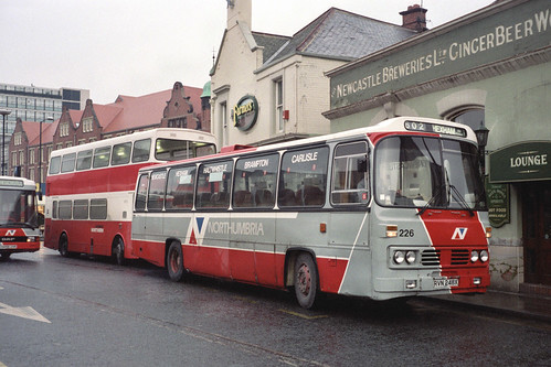 Northumbria Motor Services Leyland Leopard / Willowbrook 226 (RVN248X)