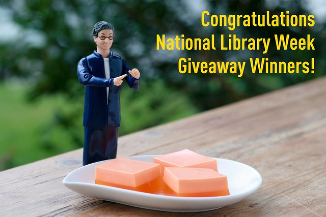 Giveaway Winners NLW 2011