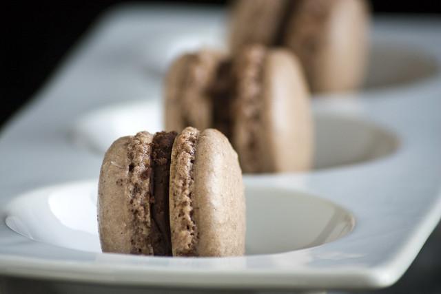 Choco Coco French Macarons