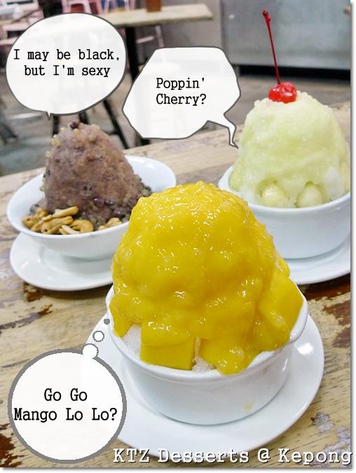 Various Desserts Lo Lo @ KTZ