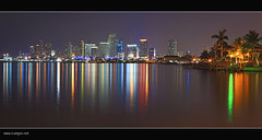 The Skyline (Press L for Larger View) (iCamPix.Net) Tags: canon florida miami bankofamerica citibank wachovia citi downtownmiami portofmiami miamiskyline fastlens hibiscusisland marinablue abigfave colorphotoaward ultimateshot canonef85mmf12lii wellfargo 50biscayne venetianislands sunsetmiami superfastlens americanairlinesareana fleursetpaysages canonprimlens xmaxprocessing potofmiami xmax01062pb
