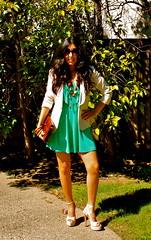 www.flordemariafashion.com (Flor de Maria Fashion) Tags: fashion moda estilo summerdress blazer outfits vestido streetstyle sacoblanco nudeheels flordemariafashion wwwflordemariafashioncom dvheels zapatosnude