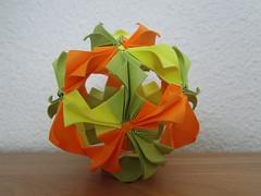 Kusudama deTsugawa, Mio (Sylenomelori) Tags: paper origami mio arabesque kusudama tsugawa