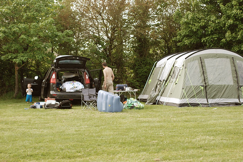 Camping in Somerset