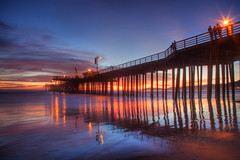 IMG_8194 Pismo Pier, Pismo Beach, CA (Ashala Tylor Images) Tags: sunset beach water pier pismo pismobeach