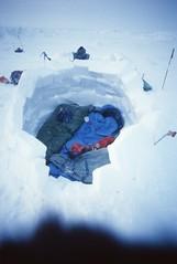 Snow House of Weber & Holloway (Weber Arctic Expeditions) Tags: ice richard misha weber northpole frostbite arcticocean polarexpedition malakhov wardhuntisland fischerskis polarbridge polartraining capearkticheskiy dimitrishparo shparo