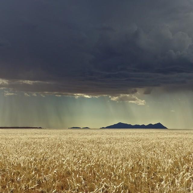 Thunderstorm near Ais-Ais, Namibia