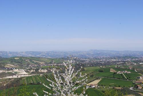 view across Abruzzo