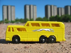Matchbox Toys Greyhound Bus Model Number 66c Restoration - 5 of 7 (Kelvin64) Tags: greyhound bus buses toy toys restoration matchbox greyhounds restorations 66c