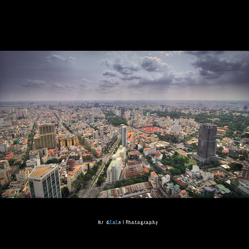From Saigon Skydeck with love