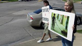 Anti-Torture Vigil - Week 46: Abu Ghraib Reminder