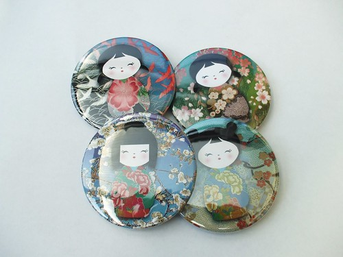 japanese oriental fridge magnet by greensladejenny