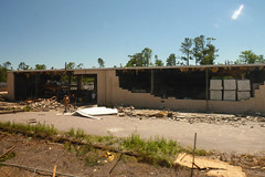 blown out warehouse (skippy haha) Tags: train destruction neworleans alabama crescent amtrak tuscaloosa damage jazzfest tornado skippyhaha