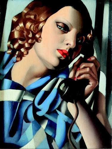 tamara_de_lempicka_il_telefono_ii_1930 by MorCheebs