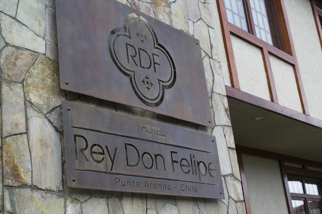 Arriving at Hotel Rey Don Felipe in Punta Arenas