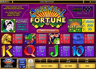 free Oriental Fortune slot mini symbol