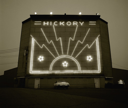 Steve Fitch, Drive-in Theater, Sharon, Pennsylvania, 1975