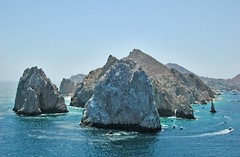 Bird's Eye View (Serge Freeman) Tags: ocean nature mexico rocks view aerial cabosanlucas