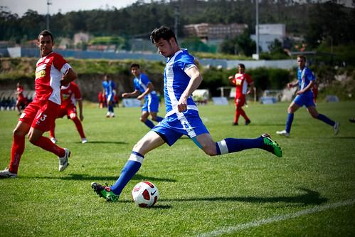 Jogo de futebol entre Paredes e Joane