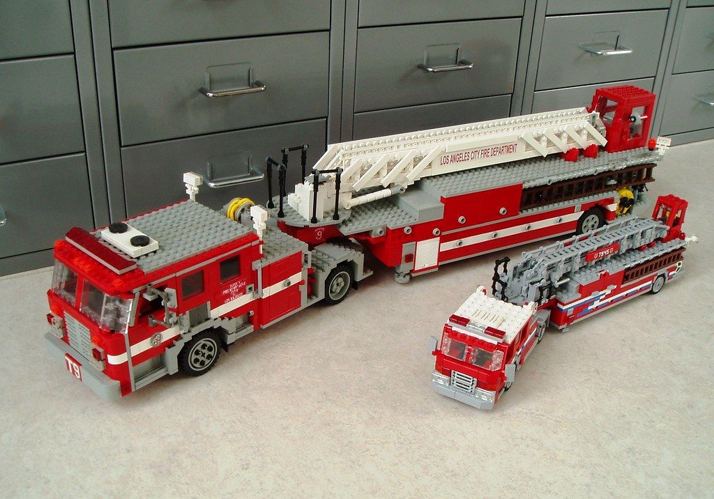 Tiller trucks