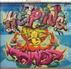 helping hands (Pixeljuice23) Tags: streetart graffiti mainz spaz helpinghands friendlyfire pixeljuice pixeljuice23