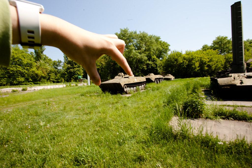 Chernobyl: Tank pinching!