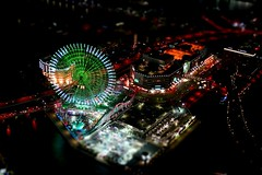 miniature (Edu M.K.) Tags: japan night nightshoot kanagawa nocturne  tiltshift minatomirai21