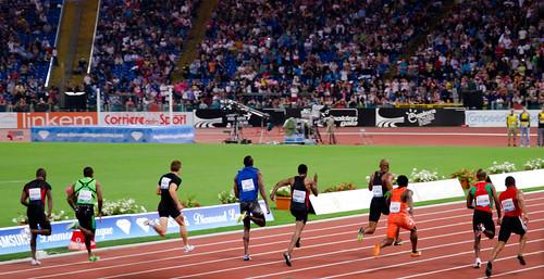 Rome, Golden Gala,100m Men.