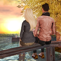 Autumn Sunset Together (My Winning Entry) (Samie Flux) Tags: 69 coolbeans pixelmode mrpoet veromodero hairfair2011 kletva somanytyles