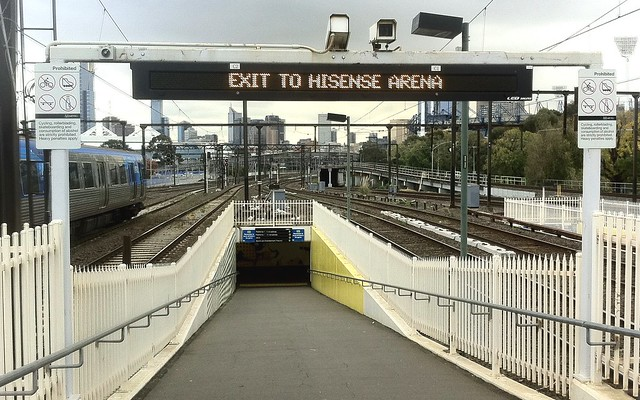 POTD: Richmond station special event exits not always open when they're needed