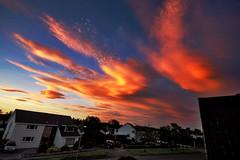 (Chris B70D) Tags: street blue chris sky orange window clouds scotland colours shot dundee awesome ce berridge