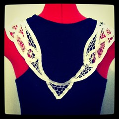 Refashioned Top: Back