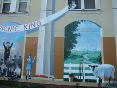 Sussex mural  picnic king
