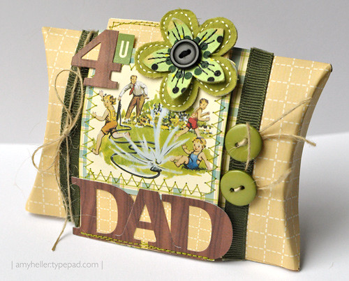 Father's Day Pillow Box