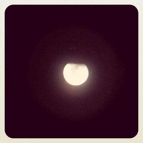 Llena #eclipselunar