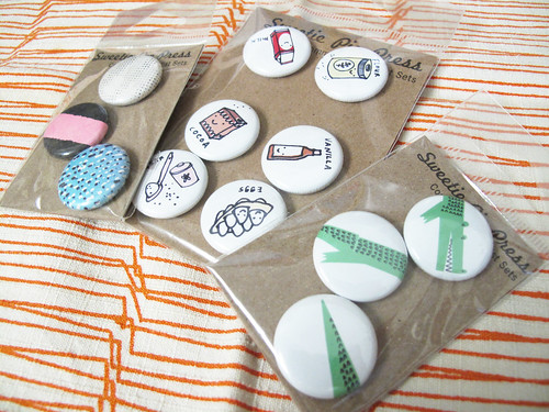 Buttons by the Sweetie Pie Press