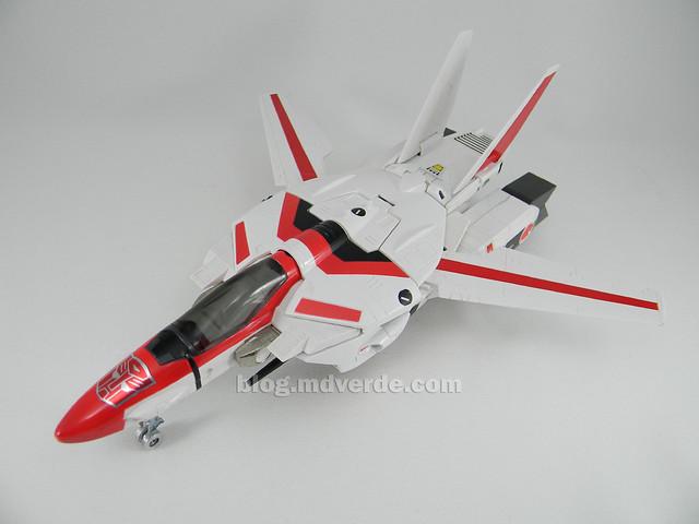 Transformers Jetfire G1 - modo alterno