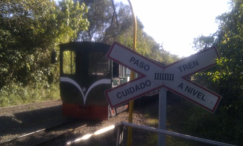 Train crossing at Iguazú