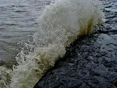 SPLASH................ (piyush.s) Tags: sea india nature water hit rocks waves natural moment splash mumbai bandra mumbaibeach