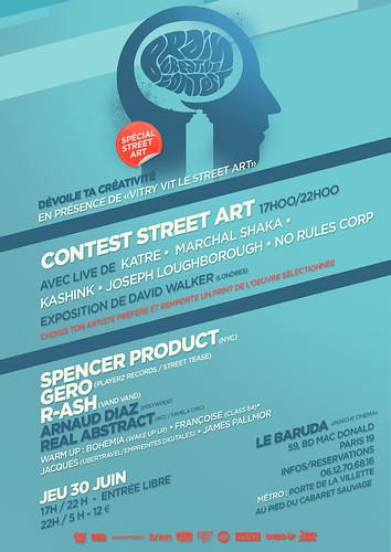 Contest street art // Paris Tonkar magazine partenaire by Pegasus & Co