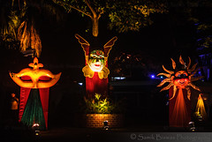 Mask garden (klysamik) Tags: carnival india festival night garden mask goa decoration nightlight panjim goacarnival