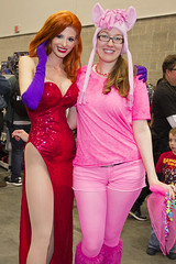 FanExpo Vancouver 2014 With Kay Pike (Kay Pike Fashion) Tags: girls canada vancouver fan bc expo cosplay jessicarabbit bunnygirl 2014 fanexpo kaypike canadacosplay jessicarabbitcosplay fanexpovancouver kaypikefashion