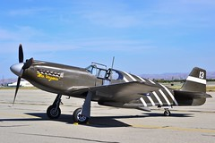 P-51A Mustang (Stephen S...) Tags: world 2 vintage airplane war aircraft aviation historic airshow ww2 mustang warbirds chino p51 p47
