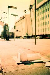 Cosina CX-1 Mission Model (▓▓▒▒░░) Tags: vintage classc 35mm film camera germany japan 1960 1970 cosina lomo lca cx1 cx2 flash set black plastic point shoot compact lomography purple retro la losangeles history california west coast socal architecture design hollywood celebrities douglas fairbanks 1920s mae