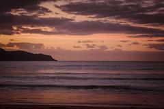Sunrise at the beach (Merrillie) Tags: daybreak uminabeach landscape nature australia nswcentralcoast newsouthwales sea purple nsw longexposure beach ocean centralcoastnsw umina pink photography waves outdoors seascape waterscape centralcoast water sunrise
