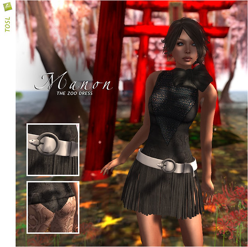 BOUNCE / MANON dress / The zoo (TOSL)